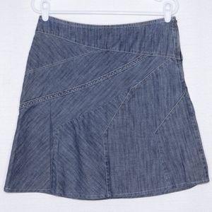 DKNY Jean Skirt size 10